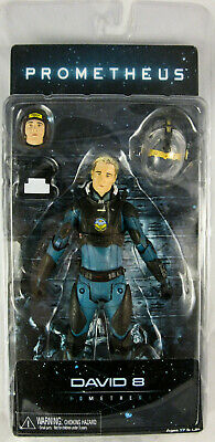 "David 8 (Michael Fassbender) – 7"" Scale NECA Action Figure – Prometheus - Alien"