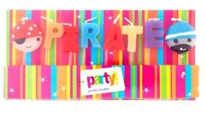 Tesco Birthday Party Pirate Cake Candles BULK BUY 45 PACKS!!!!
