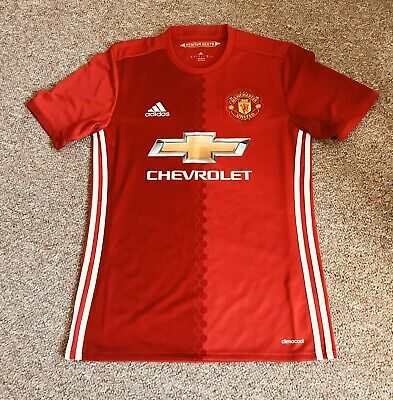 2015/16 Manchester United Football Shirt Small Adult