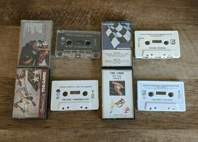 The Cars 4 Cassette Lot Panorama The Cars Candy-O Greatest Hits Heartbeat City