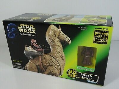 Kenner Star Wars The Power of the Force Ronto and Jawa
