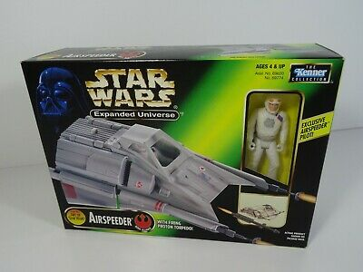Star Wars Expanded Universe Airspeeder + Firing Proton Torpedo & Exclusive Pilot