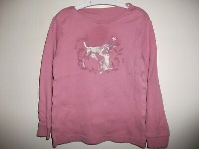 Disney Girls Dusty Pink Bambi Long Sleeved Top - Age 2-3 y/o