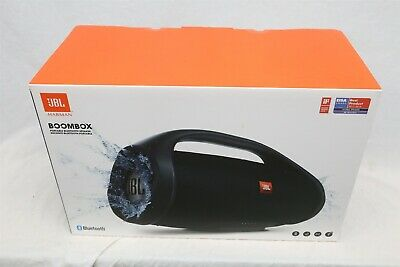 NEW JBL Boombox Portable Waterproof Wireless Bluetooth Speaker - Black