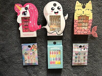 Disney Primark Girls False Nails Minnie Mouse Disney Princess