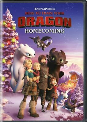 How to Train Your Dragon Homecoming (DVD) NEW (2019) r