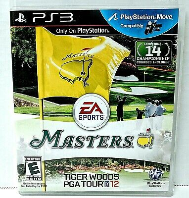 Tiger Woods PGA Tour 12 The Masters PlayStation 3 PS3 Complete With Manual