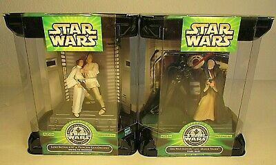 2 Star Wars 25th Anniversary Luke Leia Swing to Freedom Obi-Wan Darth Final Duel