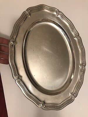Tiffany & Co Serving Platter Tray 1900-1940** Style #18049 61oz Sterling Silver