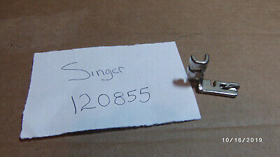 Vintage Singer Sewing Machine Simanco Rolled Hemmer Foot 120855 Attachment