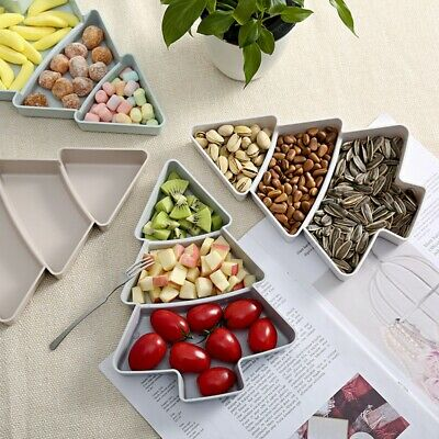 Creative Tree Shape Plate For Nuts Fruit Bowl Kitchen Dish Tray Plate Candy Dish