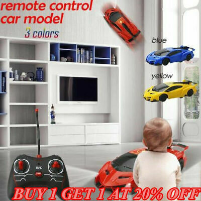 2019 Gravity Defying RC Car Wall Climbing Remote Control Anti Ceiling Racing Toy