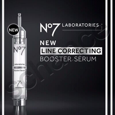 No7 Laboratories Line Correcting Booster Serum 0.5oz (15mL) New/Boxed/Sealed