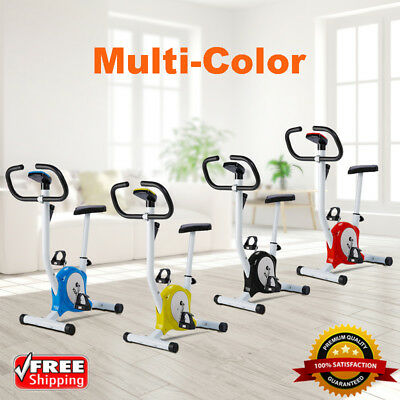 Exercise Bike Stationary Bicycle Fitness Cycling Gym Cardio Workout Indoor Train