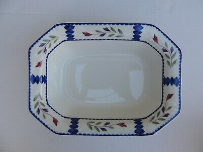 """Adams Lancaster 9 3/4"""" Vegetable Bowl Dish Ironstone Made in England"""