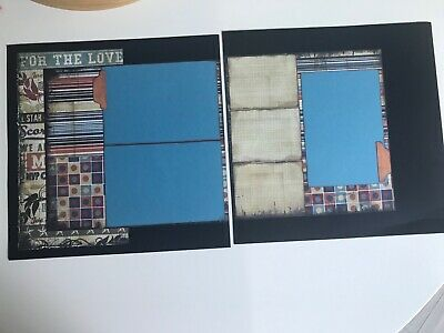 "12x12 Handmade Layout - ""For The Love"""
