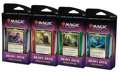 1x Throne of Eldraine Brawl Decks Set of 4 SEALED - MAGIC MTG IN HAND
