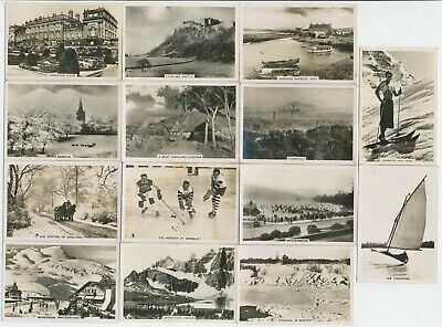 68 Large Cigarette Cards (Photos) c.1930's - All Diff.