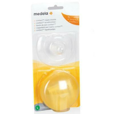 Medela Contact Nipple Shield Large Helps Babies Latch-on and for Sore Nipples