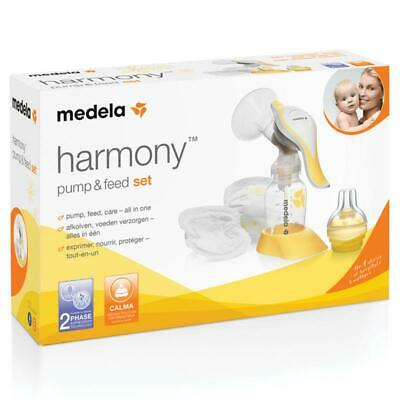 Medela Harmony Manual Pump And Feed Set 2-Phase Expression Technology
