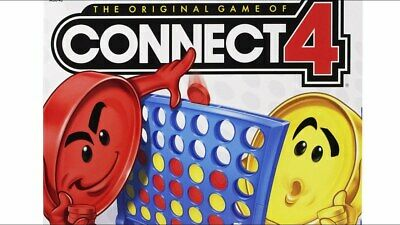 Hasbro Connect 4 Classic Grid Board Game For kids Children Fun Enjoy Gaming