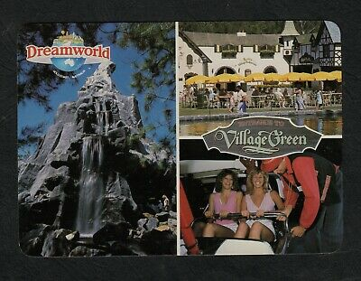 s761)   1980s THE COLLECTORS WORLD POSTCARD OF DREAMWORLD,QUEENSLAND AUSTRALIA