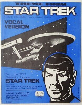Star Trek - Theme From Star Trek Sheet Music - English