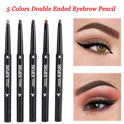 Double Ended Slim Eyebrow Pencil Waterproof Long Lasting Eyebrow Pen Cosmetics r