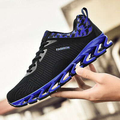 Men's Springblade Athletic Sneakers Sports Running Jogging Shoes Breathable