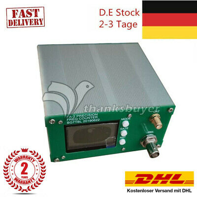 FA-2 1Hz-6GHz Frequency Counter Meter Statistical Function 11 bits/sec+Power #DE