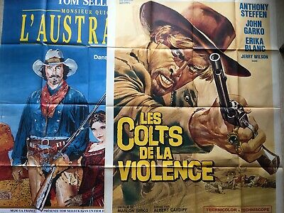 Affiches de cinéma : WESTERN French Vintages Movies Posters (Presley, McQueen)