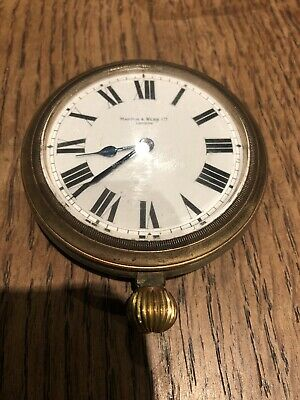 "Rare Antique/Vintage "" Mappin & Webb"" Automobile Clock /Large Pocket Watch"