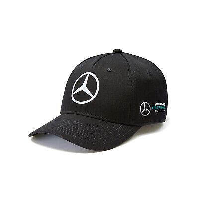 Mercedes AMG Petronas Motorsport F1 Team Cap Black NEW
