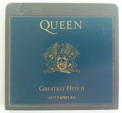 Queen - Greatest Hits II MiniDisc Album MD Music Rare Disc Only