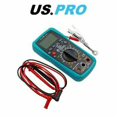 US PRO Digital Multimeter With Light - AC DC OHM Current Circuit Tester 6798