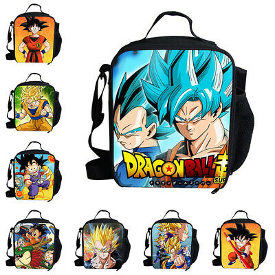 NEW DRAGON BALL Z MESSENGER SHOULDER SCHOOL BACKPACK TRAVEL BAG DBZ Lunch Boxes