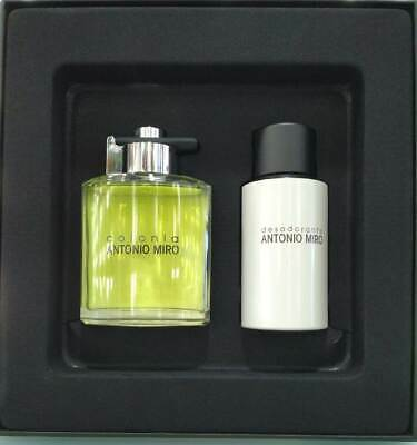 Set Colonia  De Antonio Miro Eau De Toilette 150 Ml + Desodorante Sin Gas 150 Ml