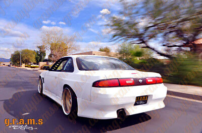 Nissan 200sx S14 S14A +50mm Origin Labs Style Rear Fenders TUV