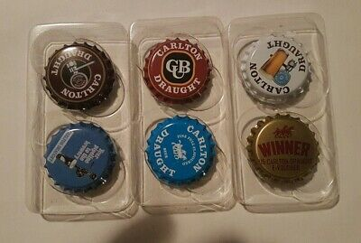 Carlton Draught Classic Collectable Fridge Magnets, $15 E-Voucher plus 5