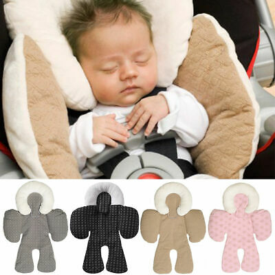 Car Seat Stroller Cushion Pad Liner Mat Head Body Support Pillow Newborn Baby