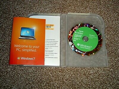 Microsoft Windows 7 Home Premium Upgrade 32 Bit with Retail Product Key