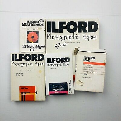Ilford Various Lot photograph Developing Paper Filter Set Diffrent Sizes Bulk