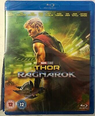 Thor: Ragnarok (Blu-Ray) New Sealed Damaged Sleeve Free UK P&P