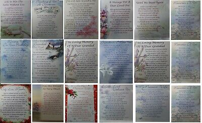 Graveside Cards In Loving Memory, With Your feeling To Loved Ones, Christmas,