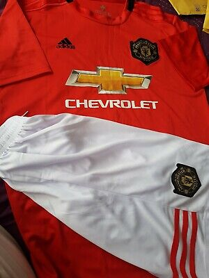 Manchester United Home Shirt & Short  size M