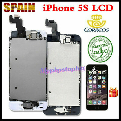 Pantalla Para iPhone 5S LCD Retina IPS Display Touch Completa Asamblea + BOTÓN