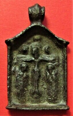Ancient Russian bronze icon part 16-17 Century!