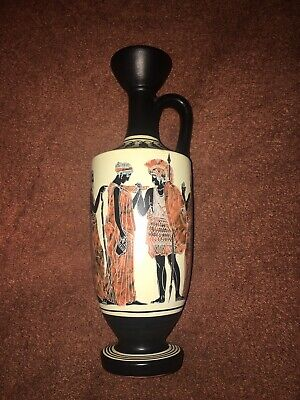 Greek Lekythos by Lambrou Brothers of Athens Number 377 22cms in height