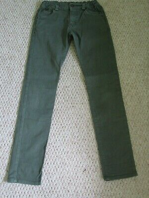American outfitters kids khaki elasticated waist stretch skinny jeans 12 yrs