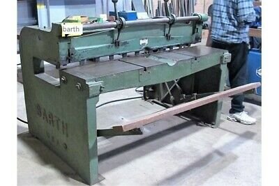 "Shear 50"" X 18 Ga. Ms. 18"" Gap Frame, Foot Operated, Barth Made In Usa"
